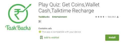TaskBucks (Paise Kamane ka App)