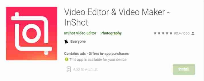 InShot - Video Editor & Video Maker