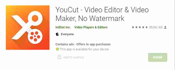 YouCut - Video Editor & Movies Maker